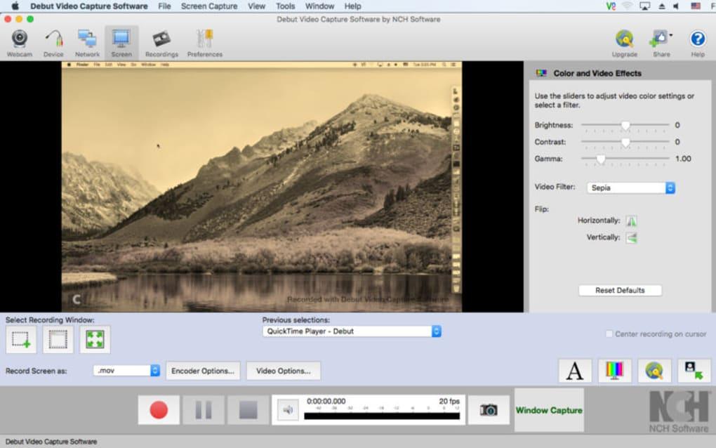 video capture mac download