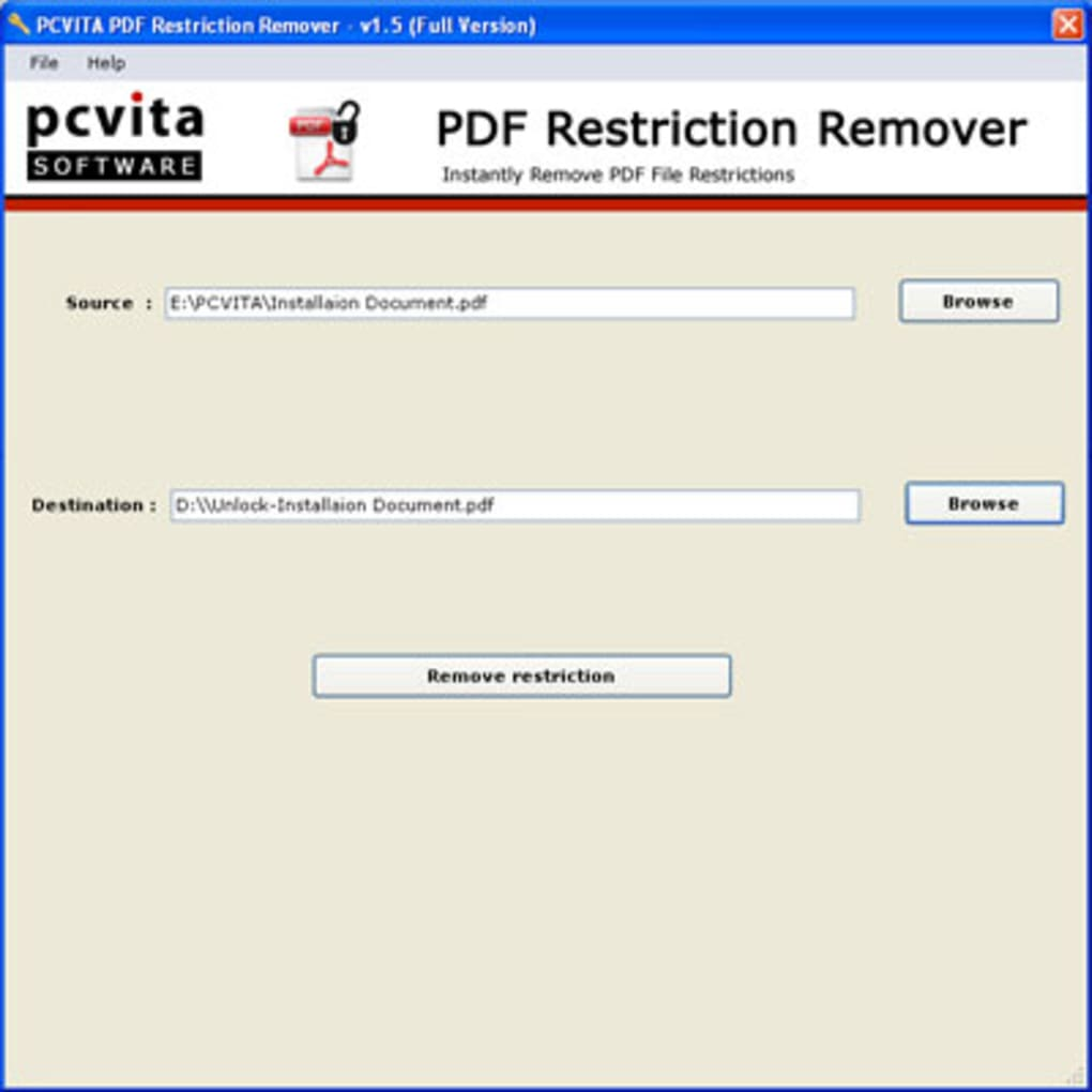 Program Pdf Unlocker