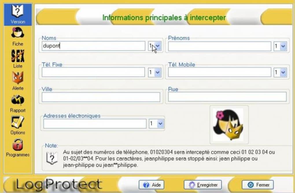 logprotect gratuit franais