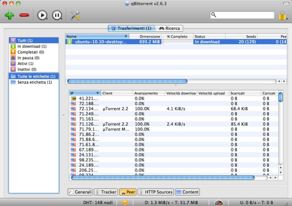 qBittorrent per Mac - Download