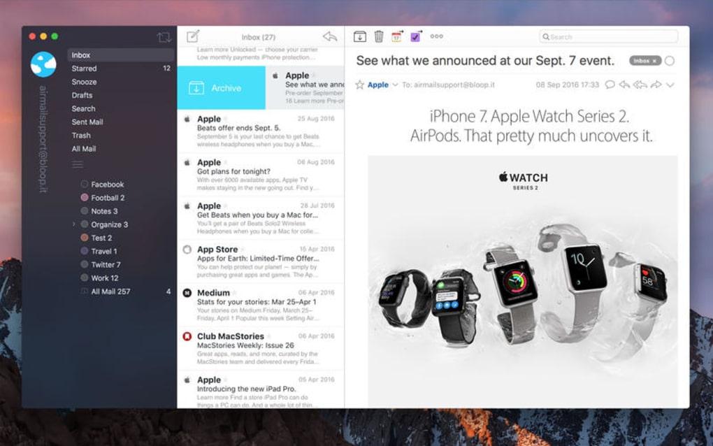 airmail mac gratuit