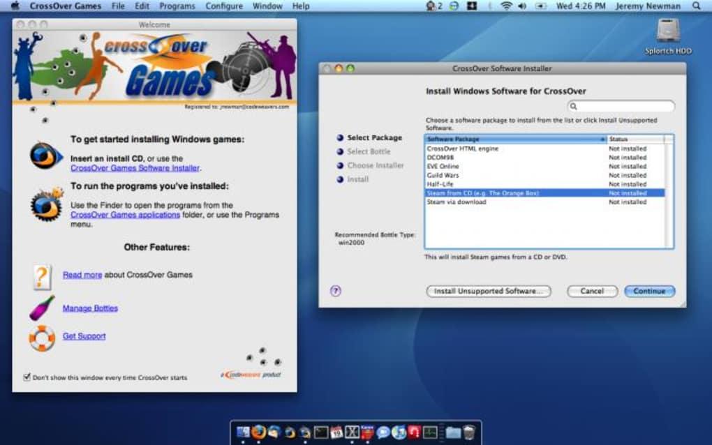 crossover mac download full version