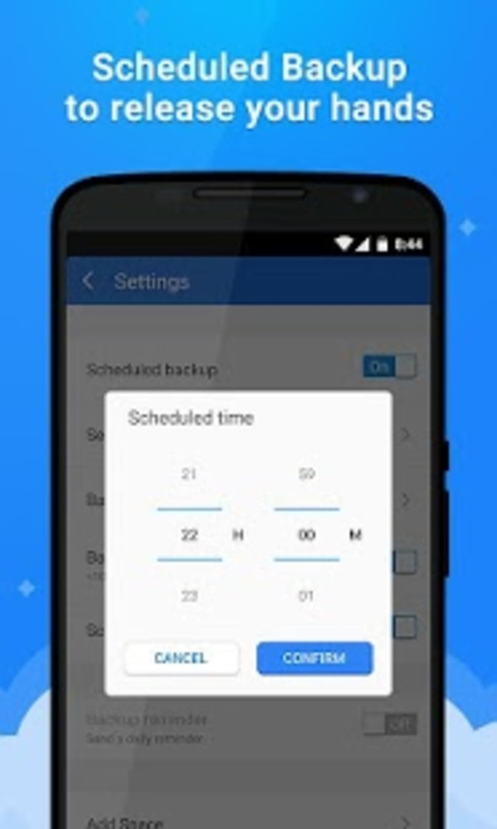 CM Backup - Safe,Cloud,Speedy for Android - Download