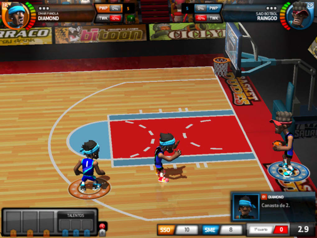 Play Basketdudes Game Here - A Sports Game on