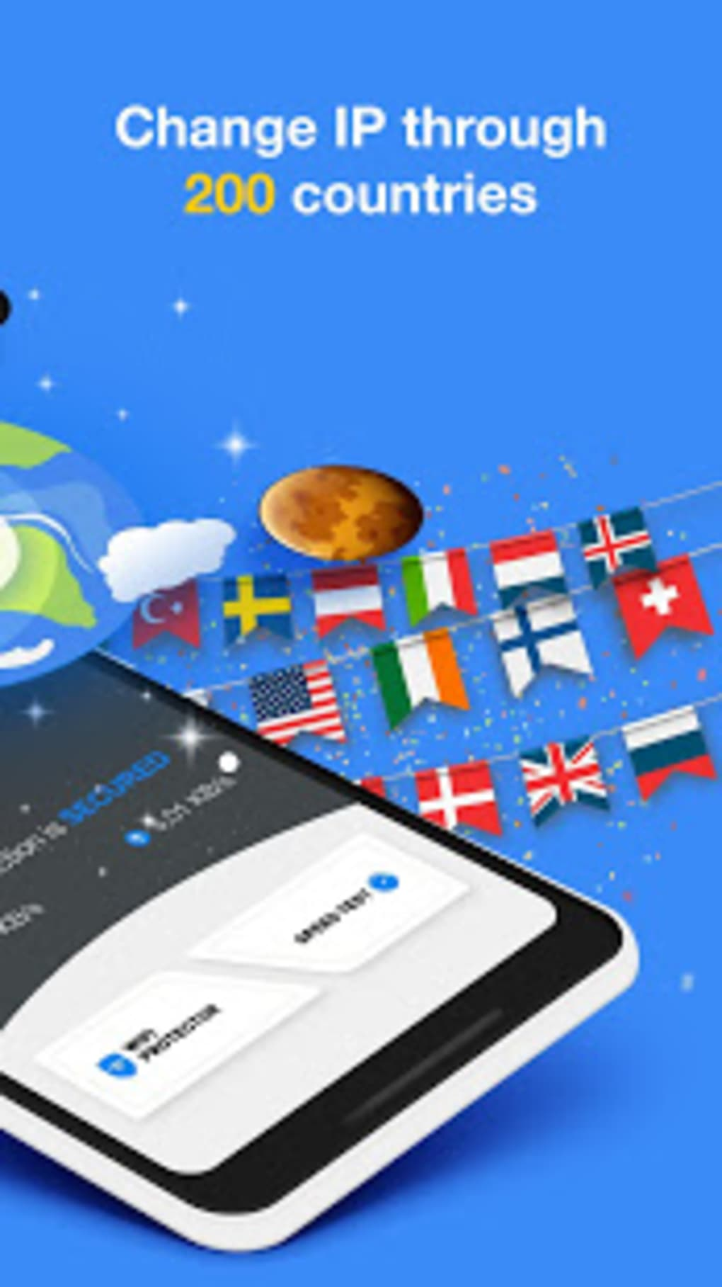 VPN Unlimited Unblock Websites - IP Changer for Android