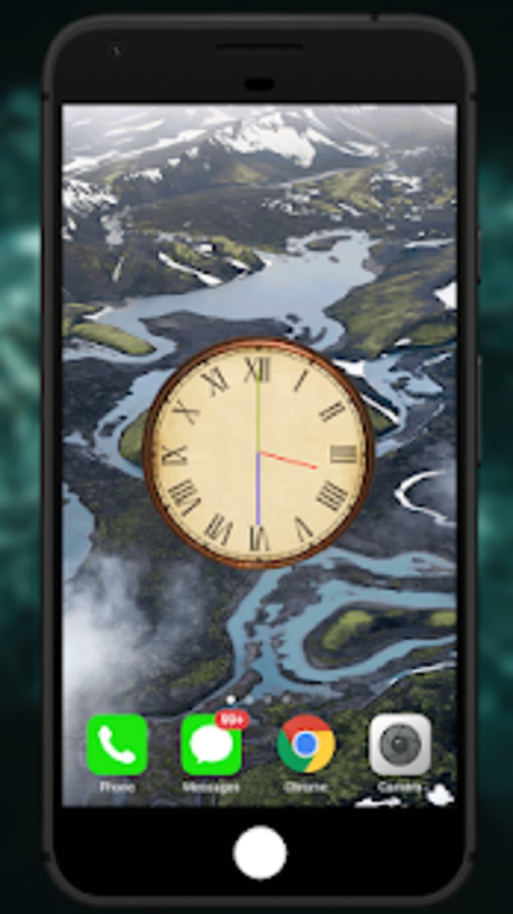 ... Analog Night Clock Live Wallpaper ...
