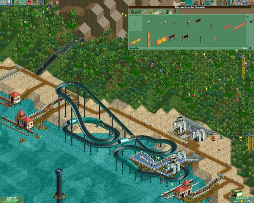 Roller Coaster Tycoon 2: Triple Thrill Pack - Download