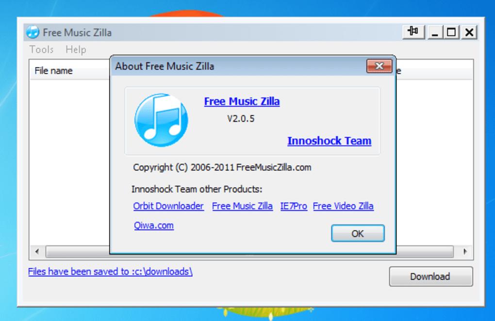 free music zilla 2.0 0.5 free download