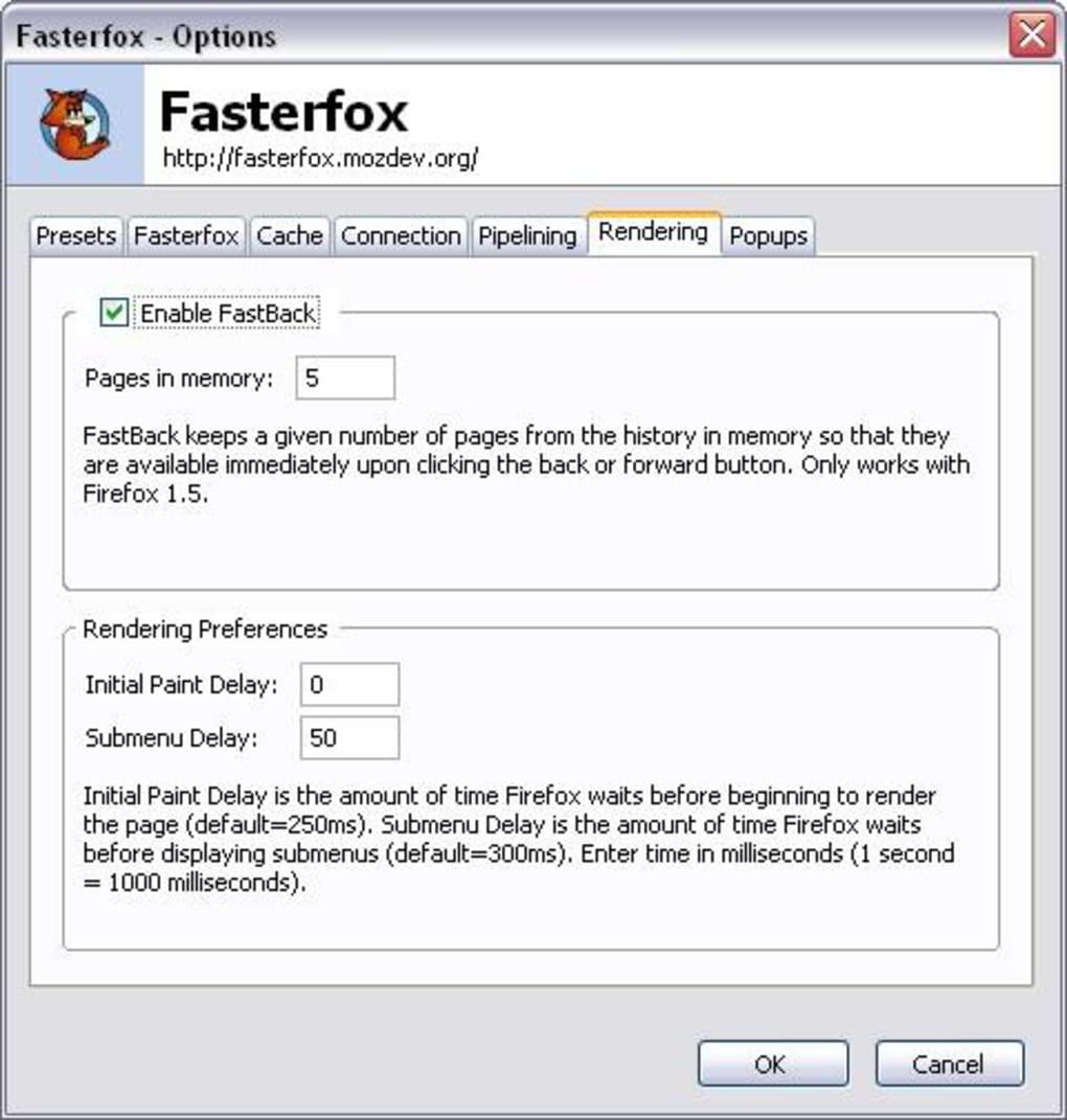 fasterfox firefox 3.6