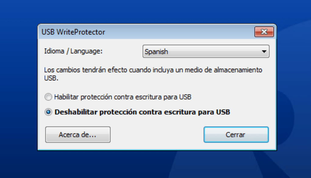 USB WriteProtector - Download