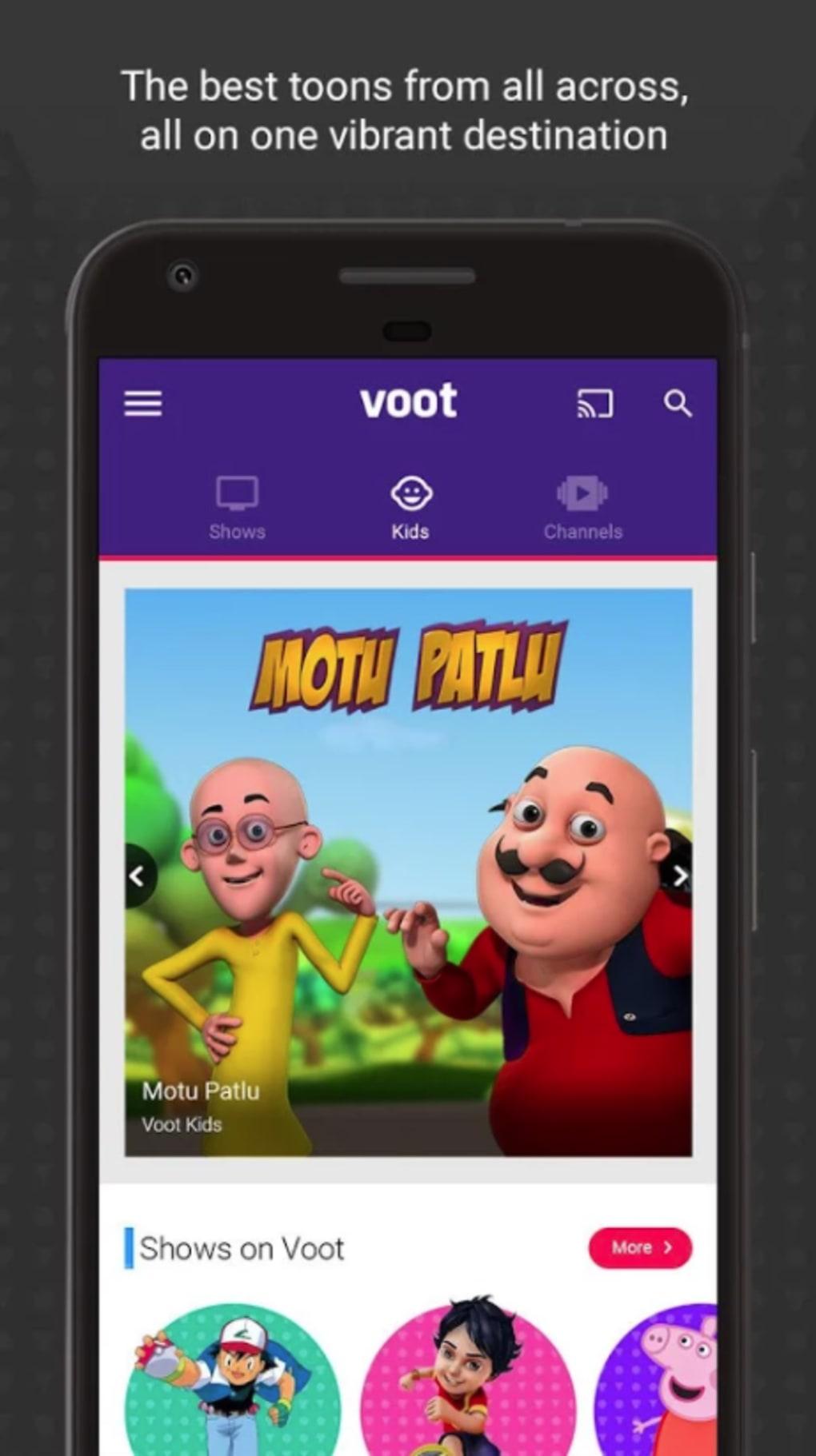Voot TV for iPhone - Download