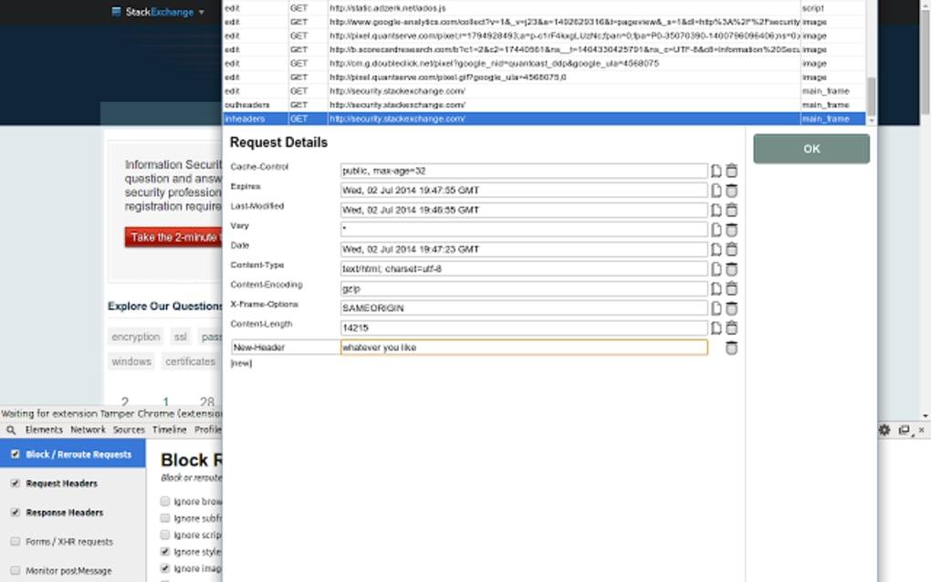 Tamper Chrome (extension) - Download