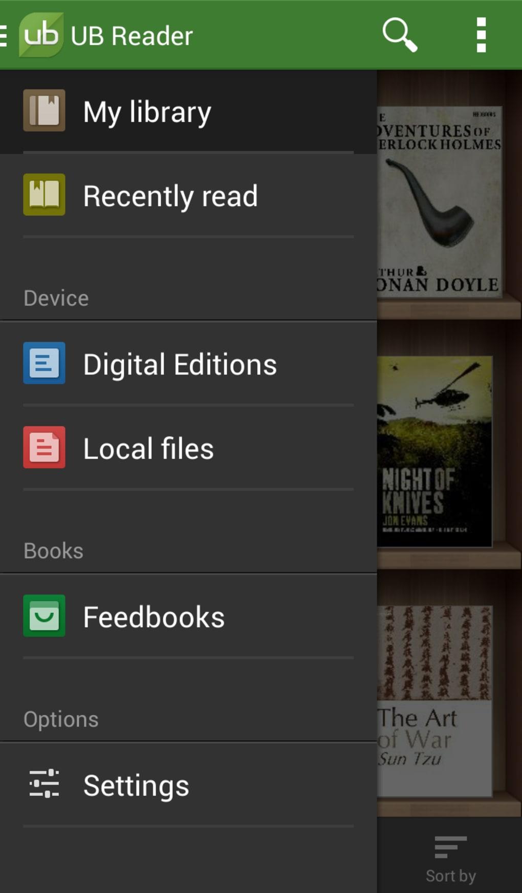 ub reader gratuit
