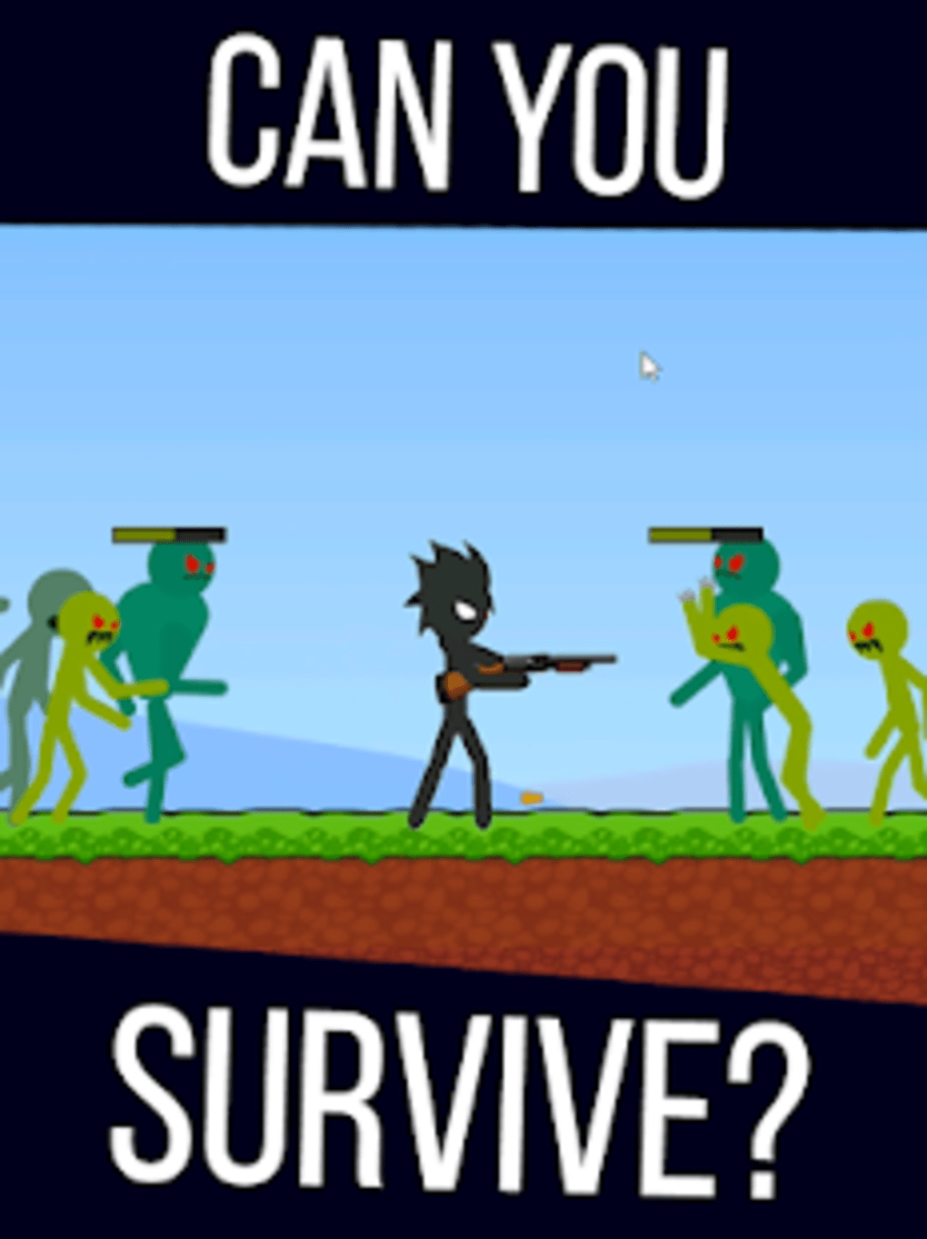 Stickman Zombie Shooter - Epic Stickman Games for Android