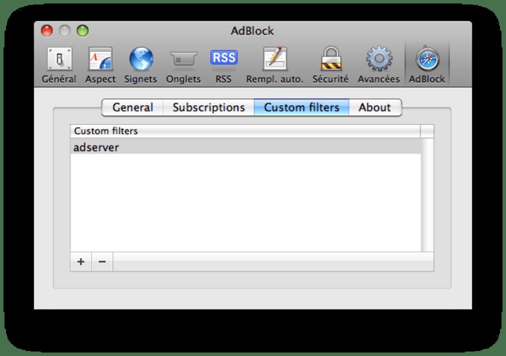 Safari AdBlock pour Mac - Télécharger