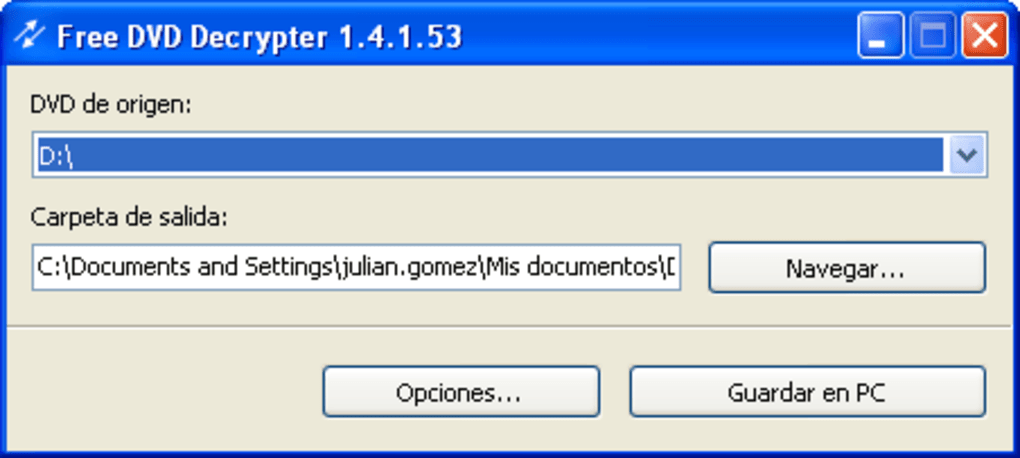 Download dvd decrypter 3. 5. 4. 0 (free) for windows.