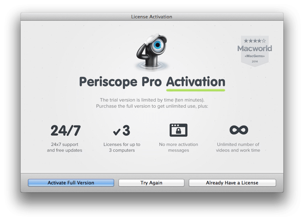 Periscope Pro for Mac - Download