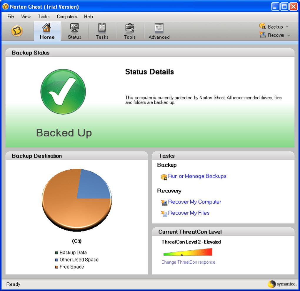 norton ghost disquete