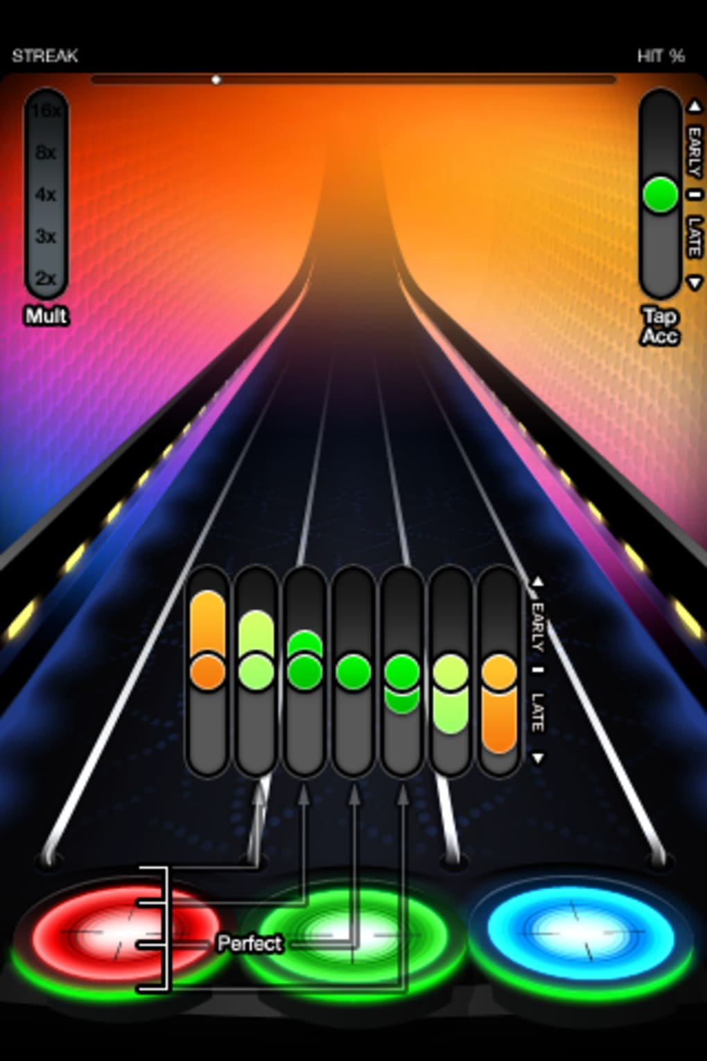 Tap tap revenge 4 released as free download on itunes.