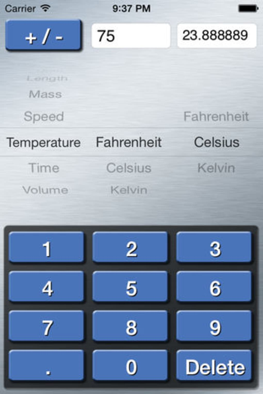 Units Converter - Metric and Standard Unit