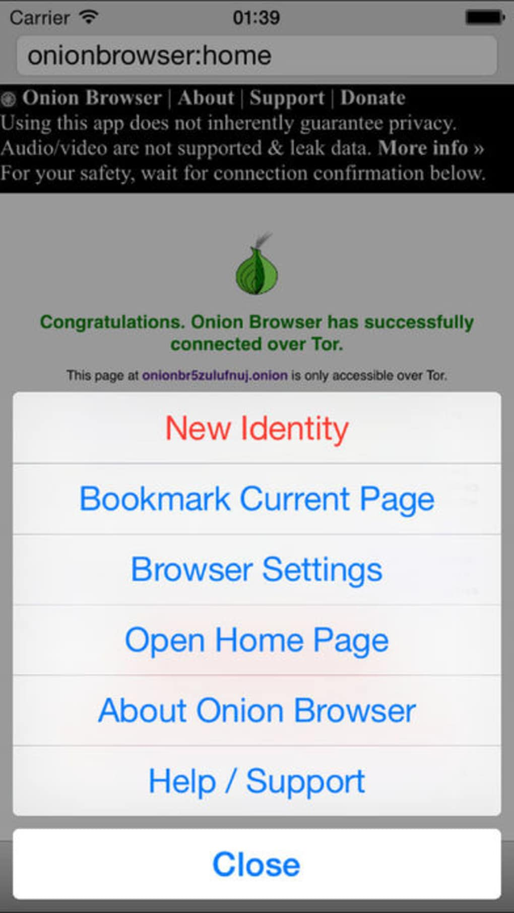 Red Onion - Tor Browser for iPhone - Download