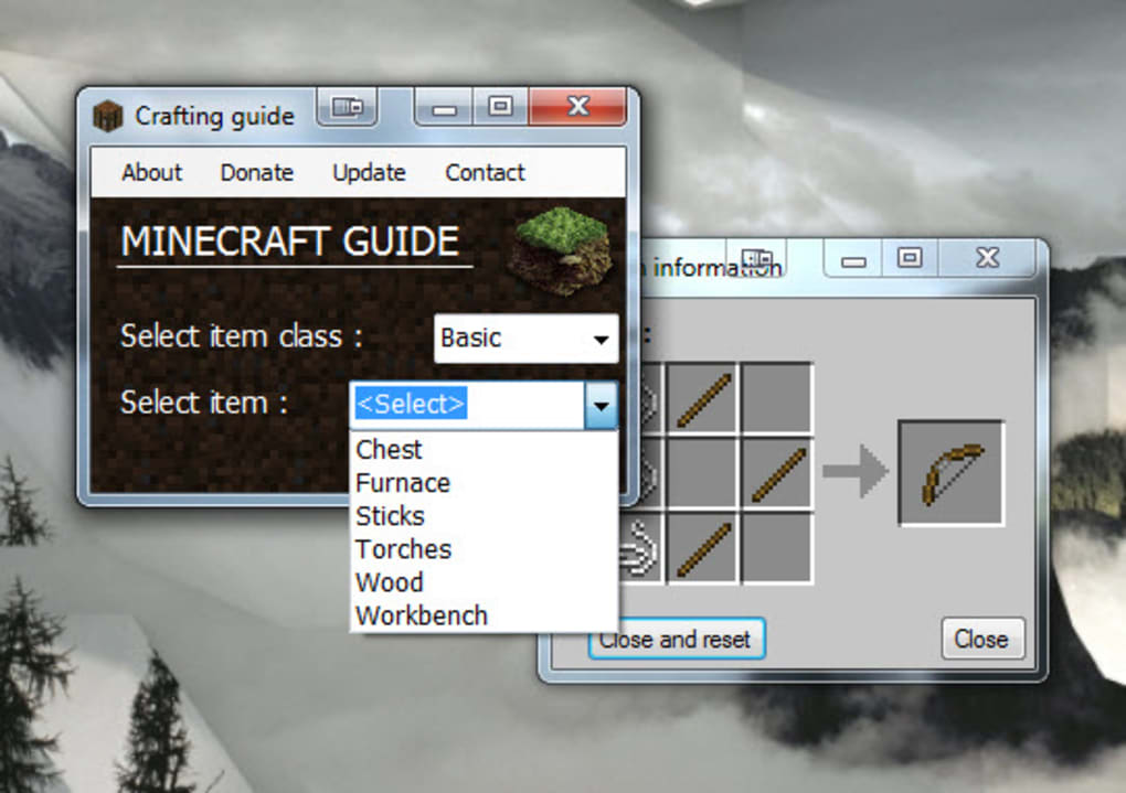 Minecraft Crafting Guide - Download
