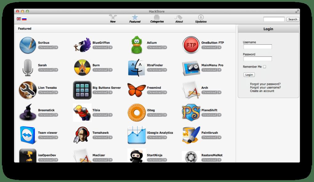 HackStore for Mac - Download