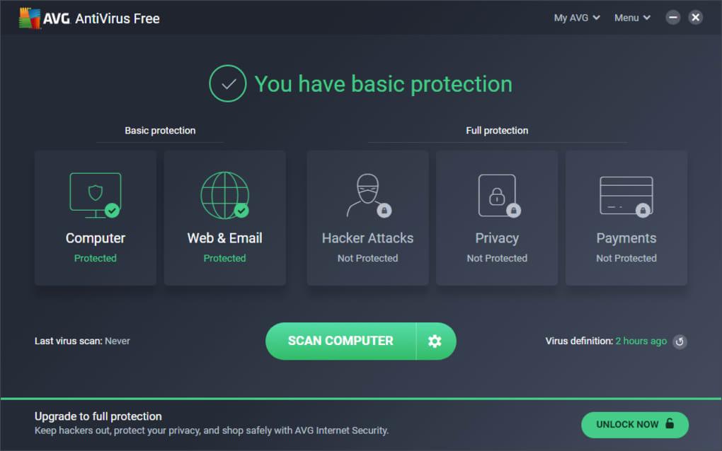 antivirus avg gratis per sempre