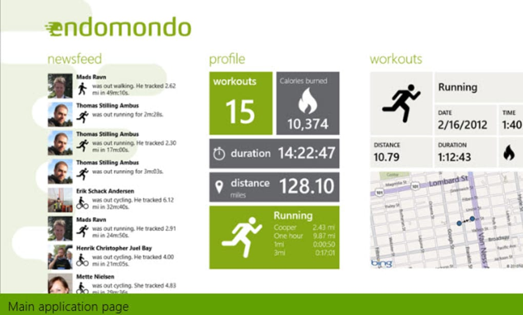 endomondo gratis