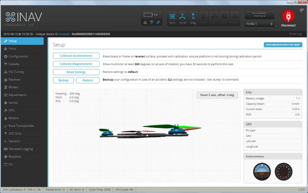 INAV - Configurator - Download