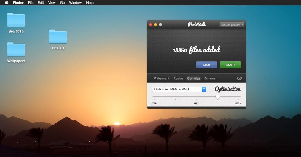 PhotoBulk for Mac - Download