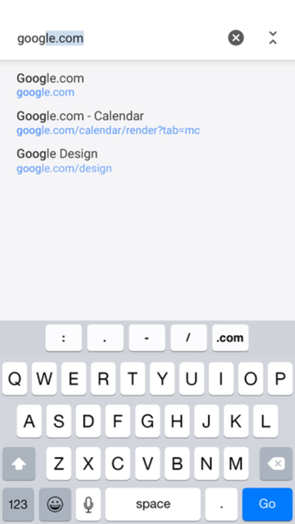 Chrome for iPhone - Download