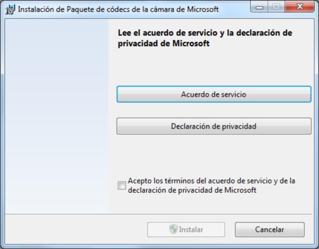 windows media player codec pack windows 10 microsoft