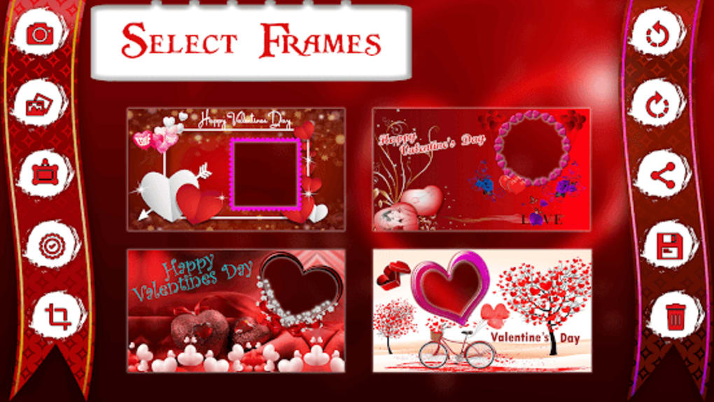 Valentine Day Photo Frame 2018 For Android Download