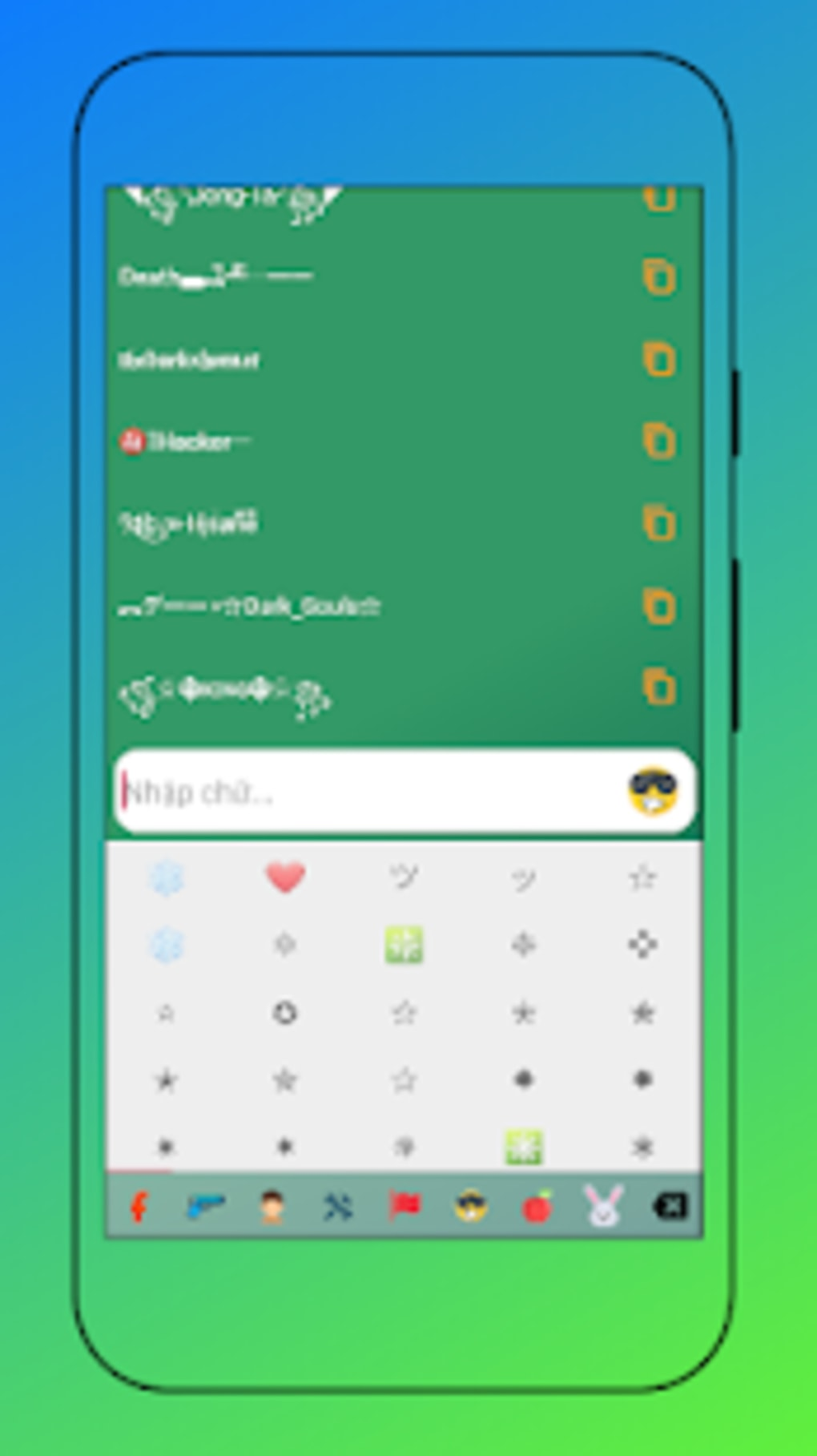Fancy text - cool fonts generator for Android - Download