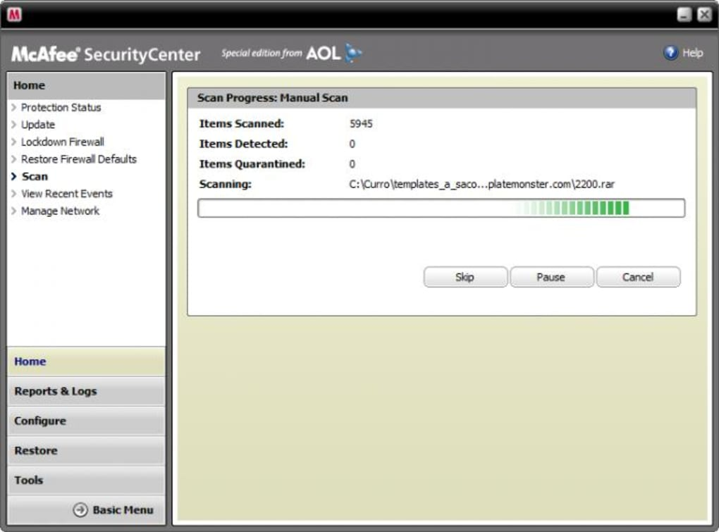 mcafee virus scan for iphone download