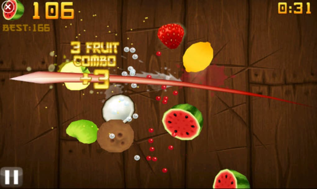 Go crazy with a sword and a load of fruit