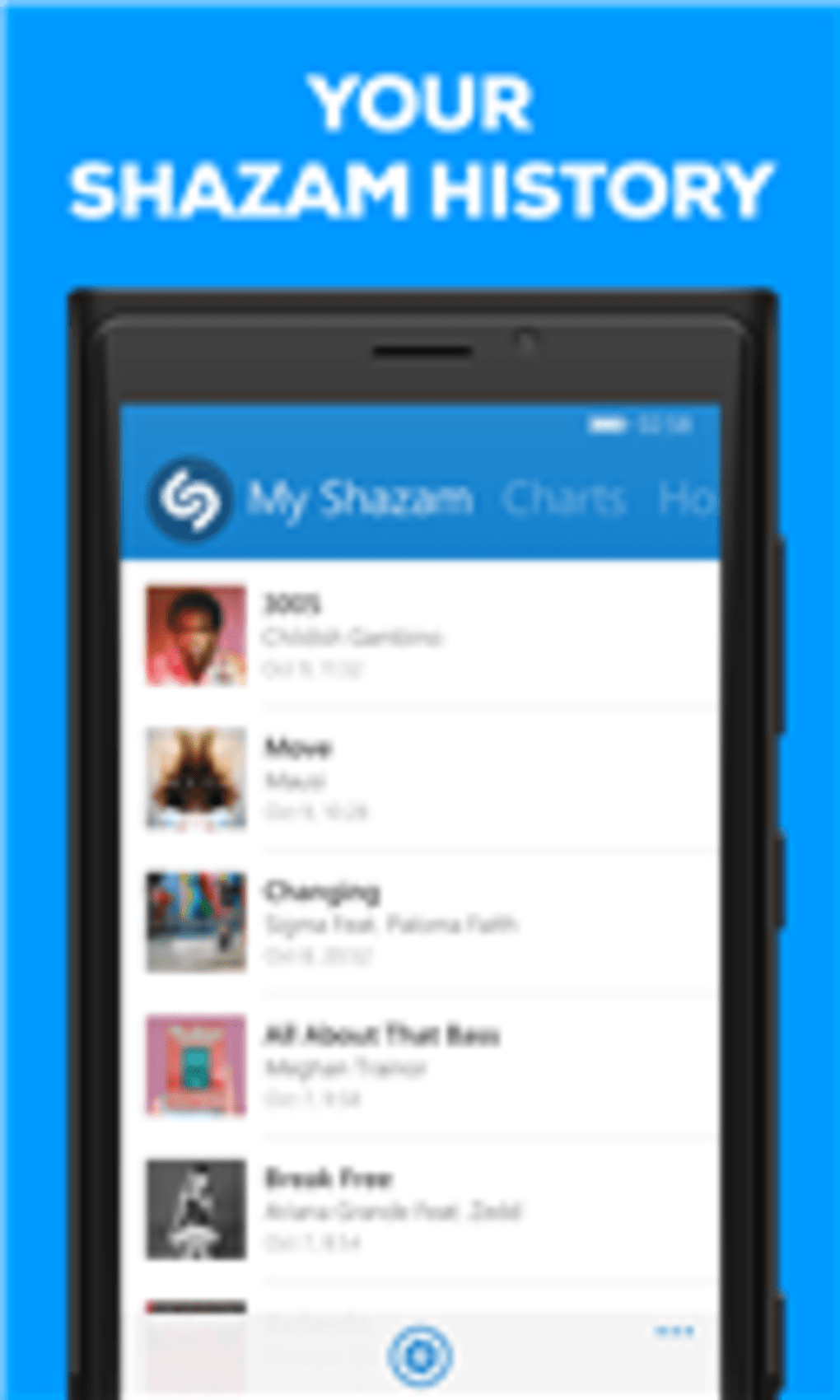 shazam gratis per windows phone