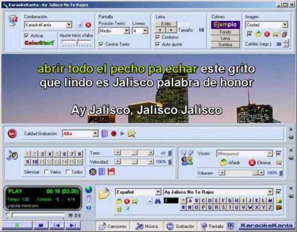 descargar canciones karaoke español