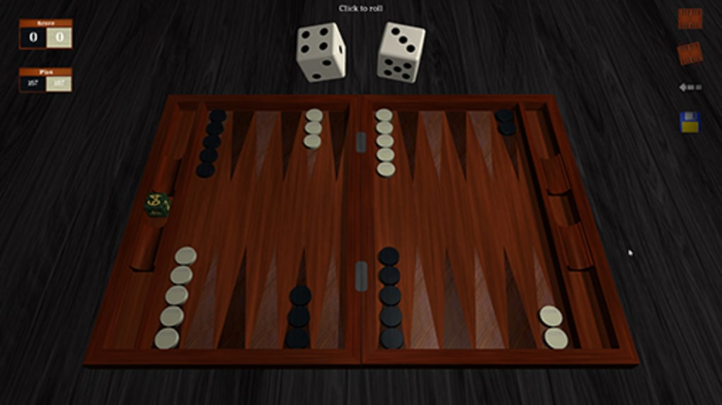 Gnu backgammon.