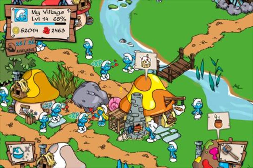 The smurfs village pc game downloads.