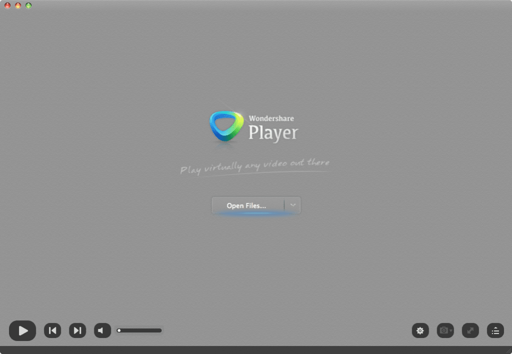 Wondershare Player for Mac - Download