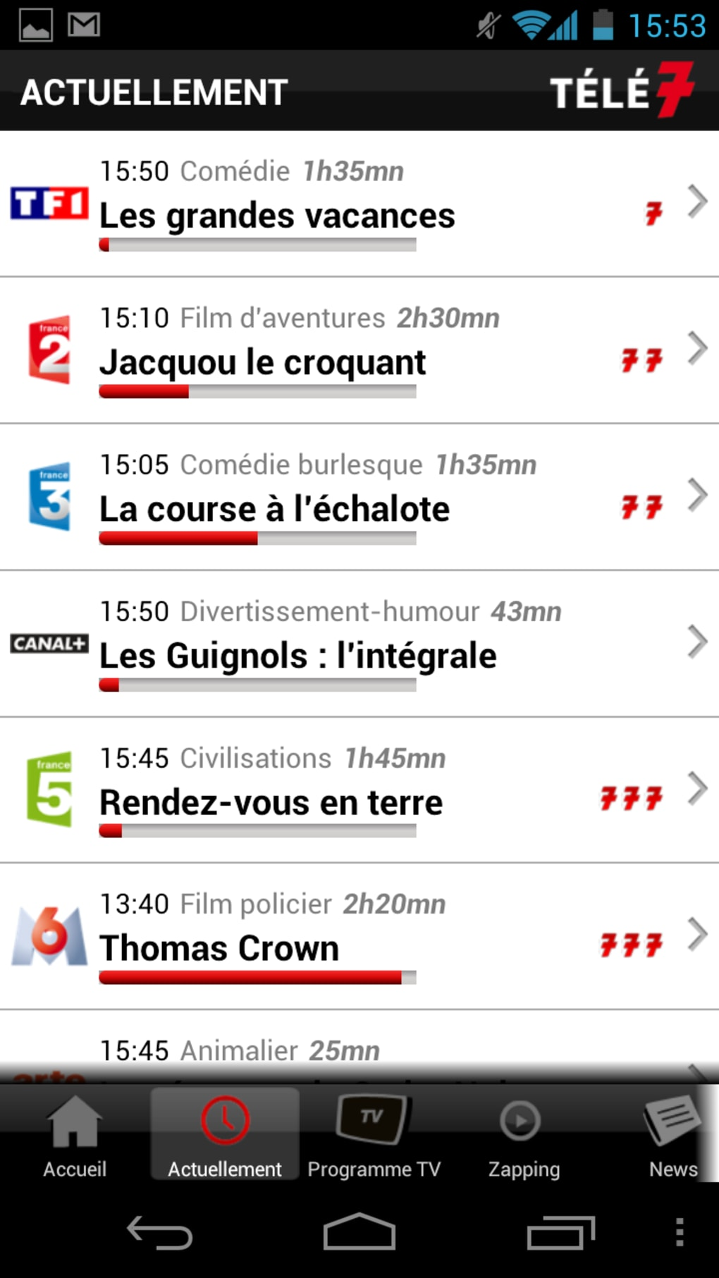 Télé 7 Programme Tv Apk Pour Android Télécharger
