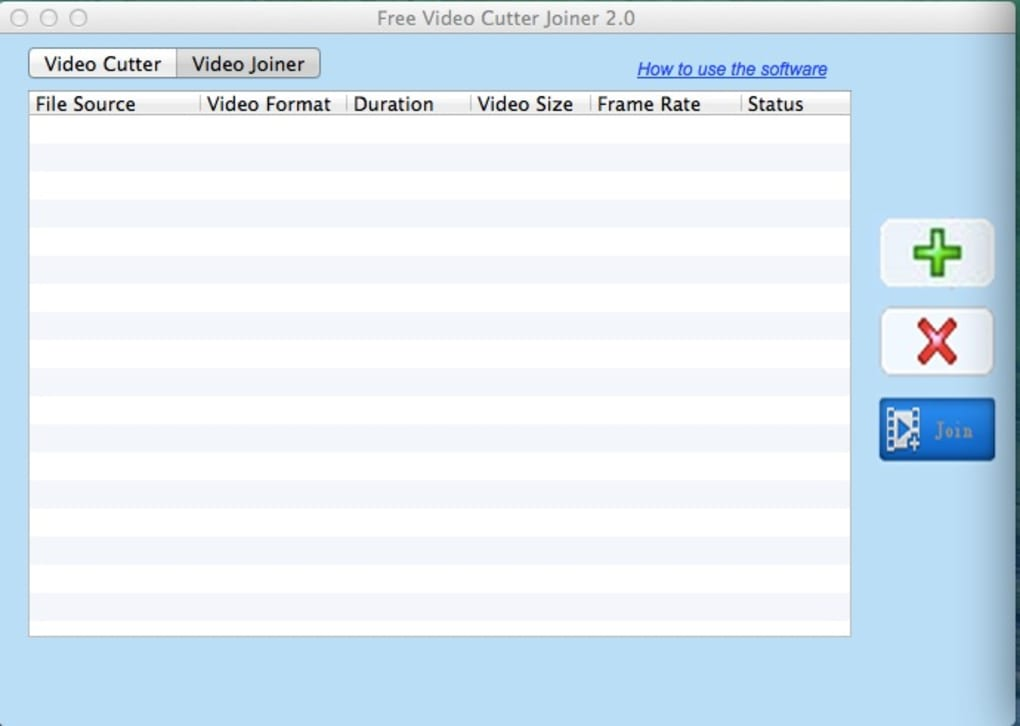 Free Video Cutter Joiner for Mac - Download