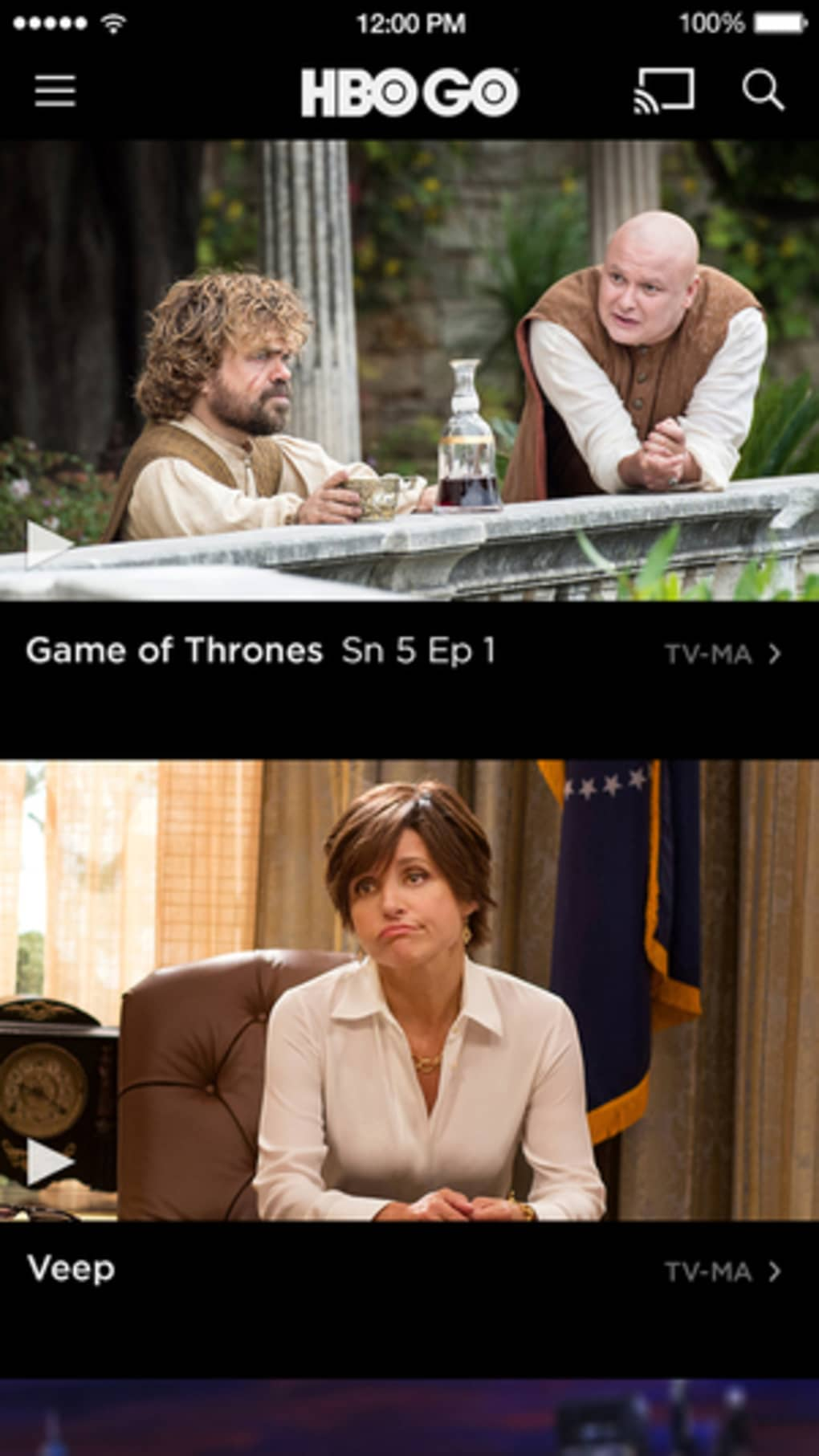 HBO GO for iPhone - Download