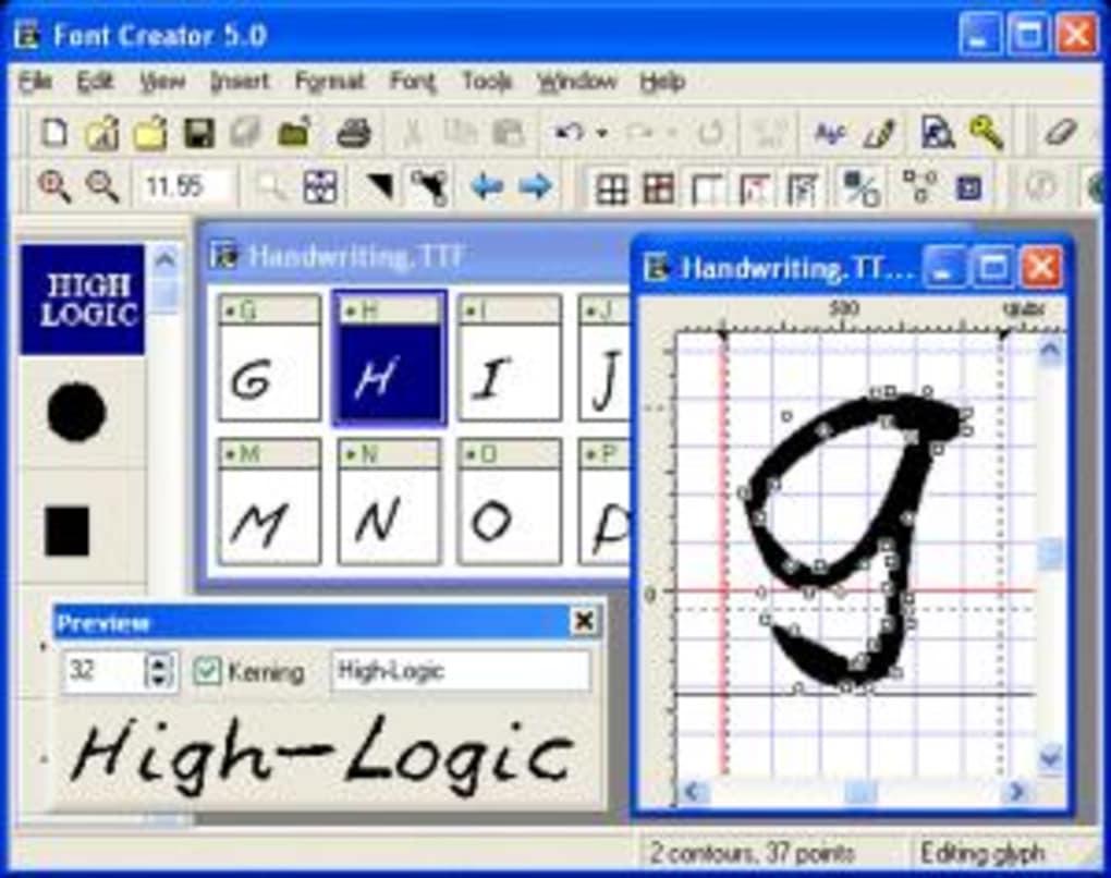 Free font creator windows