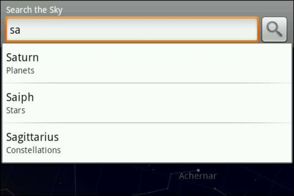 Google Sky Map for Android - Download on skype android, chrome android, gmail android, evernote android, google android, game android,