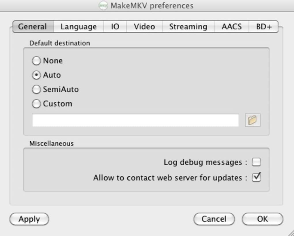 MakeMKV for Mac - Download