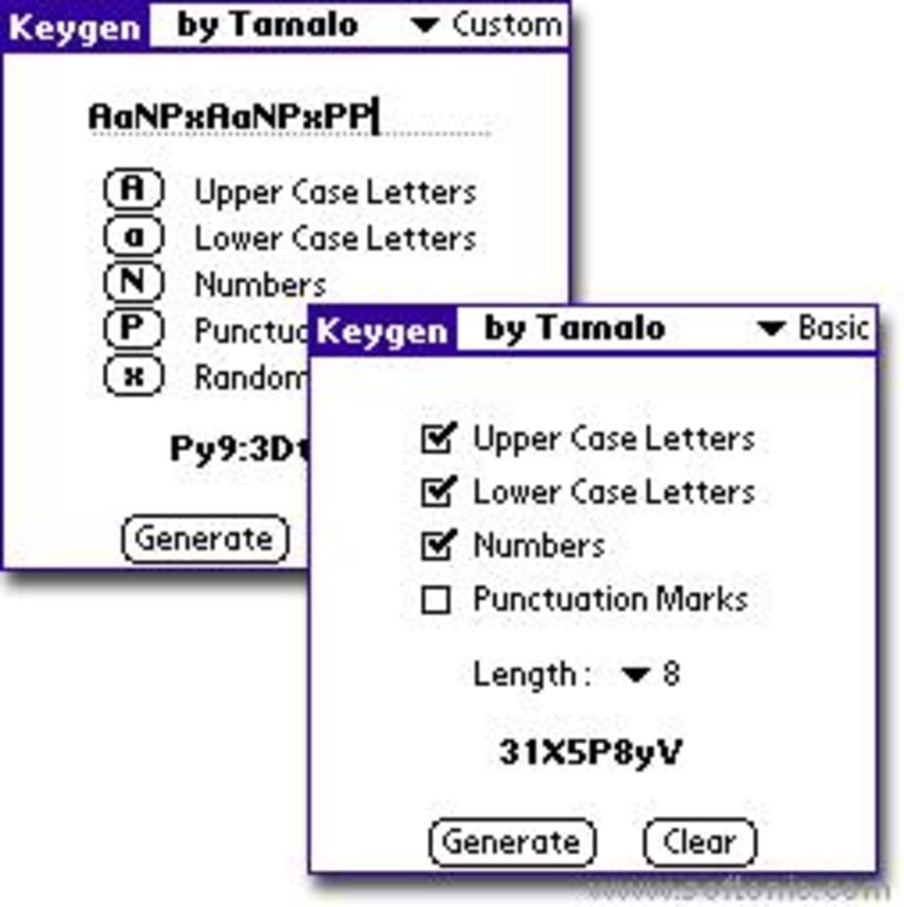 Keygen Password Generator