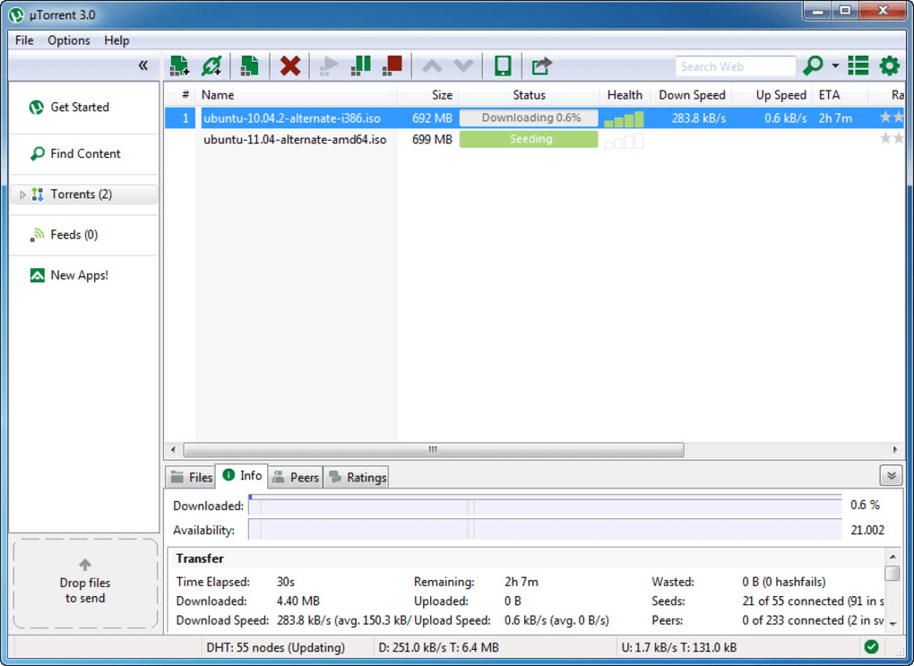 Download the latest version of BitTorrent free in English on CCM